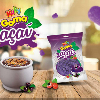 Ler mais sobre Goma Sabor Açaí, vem para ser tendência de Mercado.