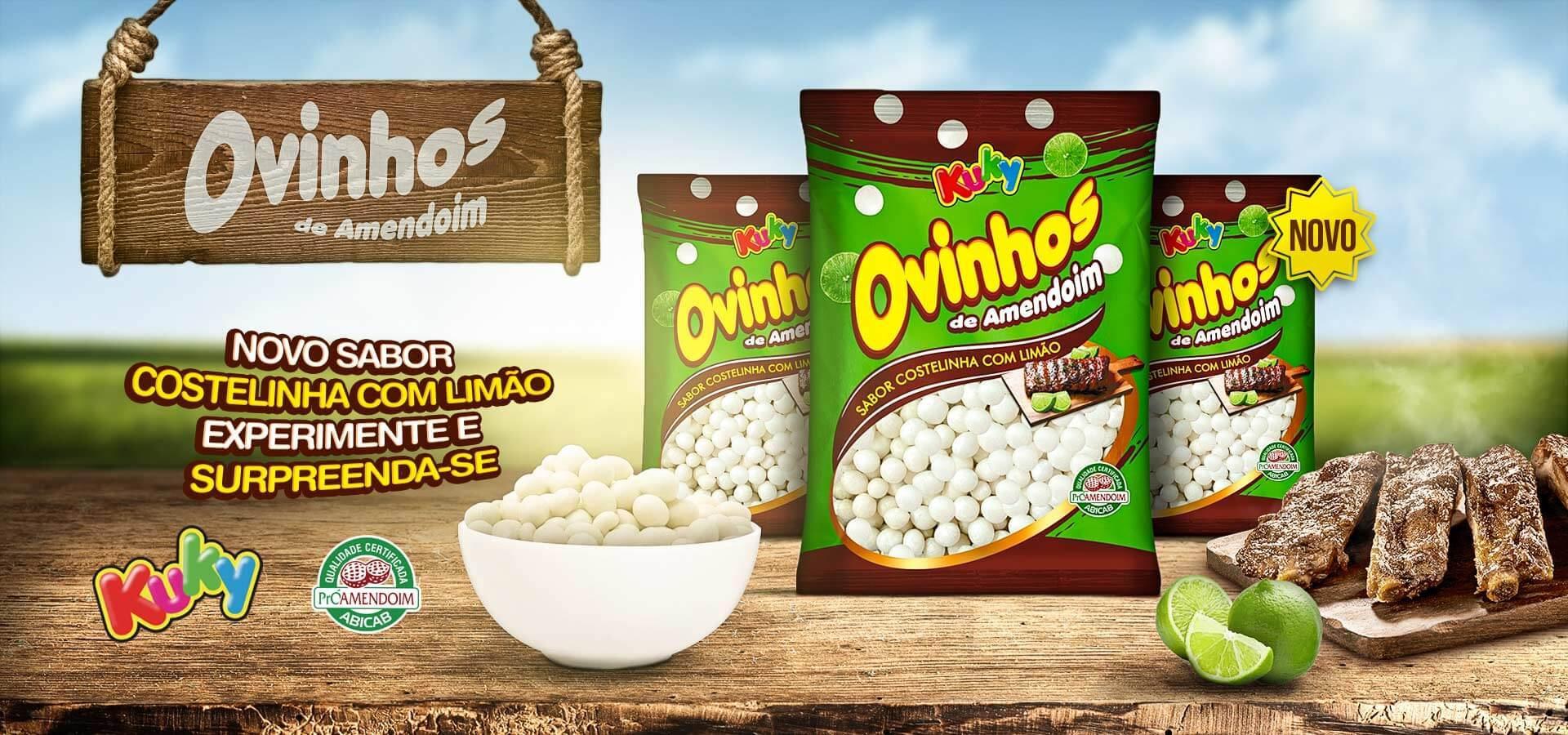 Ovinhos - Sabor Costelinha com Limão!