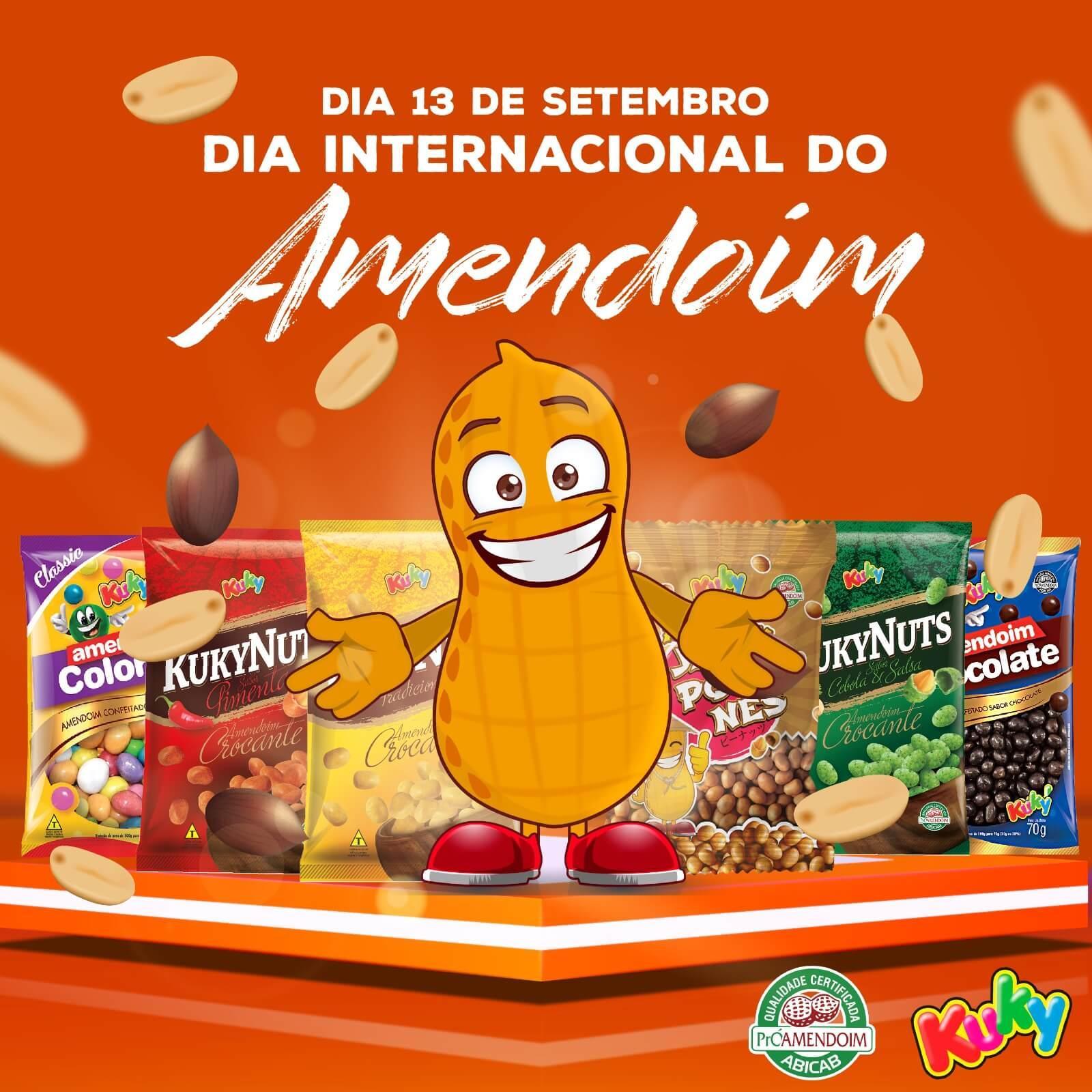 Ler mais sobre 13 de Setembro dia do Amendoim