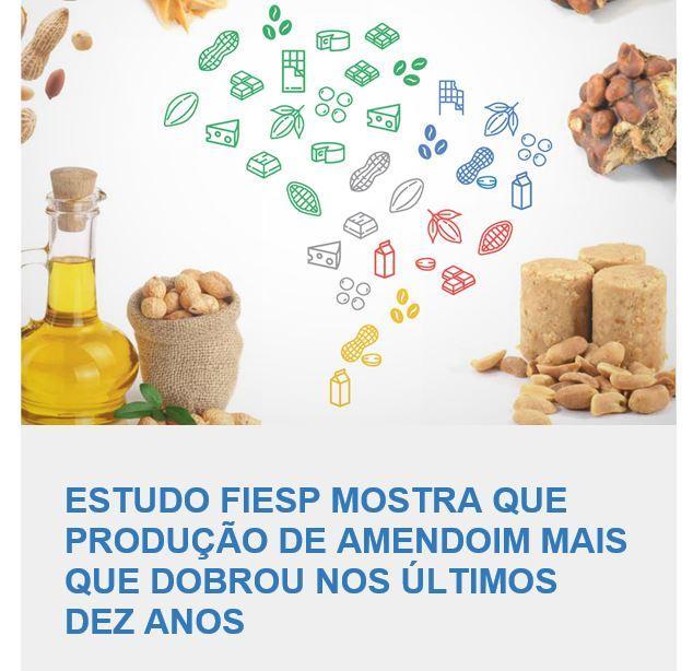 Ler mais sobre Estudo FIESP mostra que Produção de Amendoim mais que dobrou nos últimos 10 anos.